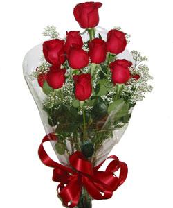 9 adet kaliteli kirmizi gül   Uşak online çiçekçi , çiçek siparişi