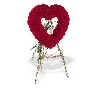 Uşak internetten çiçek satışı  karanfillerden kalp pano