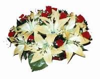 yapay karisik çiçek sepeti   Uşak internetten çiçek siparişi