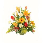 karisik renkli çiçekler tanzim   Uşak çiçek gönderme sitemiz güvenlidir