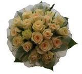 12 adet sari güllerden buket   Uşak uluslararası çiçek gönderme