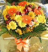 Uşak hediye çiçek yolla  karma büyük ve gösterisli mevsim demeti