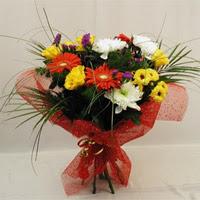Uşak hediye çiçek yolla  Karisik mevsim demeti