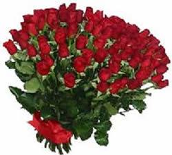 51 adet kirmizi gül buketi  Uşak çiçekçiler