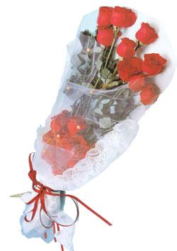 11 adet kirmizi güller buket tanzimi   Uşak çiçek siparişi sitesi