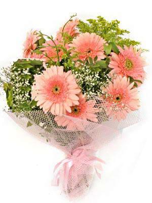 Uşak çiçek satışı  11 adet gerbera çiçegi buketi