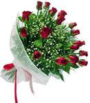 Uşak internetten çiçek satışı  11 adet kirmizi gül buketi sade ve hos sevenler