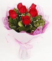 9 adet kaliteli görsel kirmizi gül  Uşak çiçek gönderme