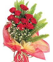 11 adet kaliteli görsel kirmizi gül  Uşak çiçek satışı