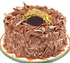 çikolatali 4 ile 6 kisilik yas pasta  Uşak çiçek servisi , çiçekçi adresleri
