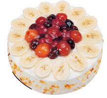 Meyvali 4 ile 6 kisilik yas pasta leziz  Uşak ucuz çiçek gönder