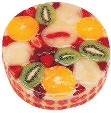 Meyvali 4 ile 6 kisilik yas pasta leziz  Uşak hediye çiçek yolla