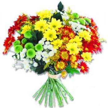 Kir çiçeklerinden buket modeli  Uşak online çiçek gönderme sipariş