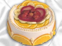 leziz pastane 4 ile 6 kisilik yas pasta meyvali yaspasta  Uşak kaliteli taze ve ucuz çiçekler