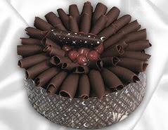 online pasta satisi 4 ile 6 kisilik çikolatali meyvali yaspasta  Uşak cicekciler , cicek siparisi