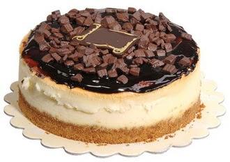 pasta yolla 4 ile 6 kisilik çikolatali yas pasta  Uşak online çiçek gönderme sipariş