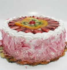 görsel pastacilar 4 ile 6 kisilik yas pasta karisik meyvali  Uşak çiçek online çiçek siparişi