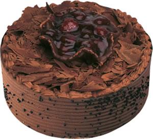pasta satisi 4 ile 6 kisilik çikolatali yas pasta  Uşak çiçek , çiçekçi , çiçekçilik