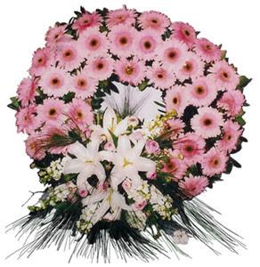 Cenaze çelengi cenaze çiçekleri  Uşak çiçek siparişi vermek
