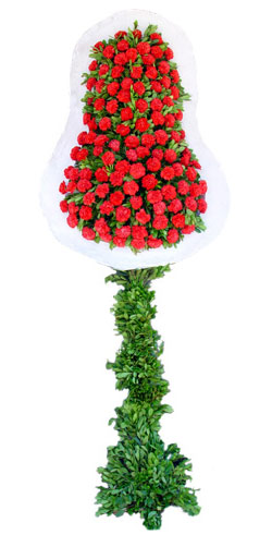 Dügün nikah açilis çiçekleri sepet modeli  Uşak İnternetten çiçek siparişi