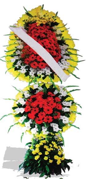 Dügün nikah açilis çiçekleri sepet modeli  Uşak çiçek yolla