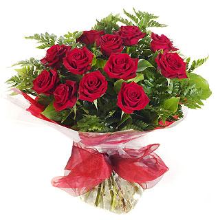 Ucuz Çiçek siparisi 11 kirmizi gül buketi  Uşak çiçek online çiçek siparişi