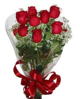 Çiçek sade gül buketi 7 güllü buket  Uşak online çiçek gönderme sipariş