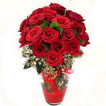 Uşak çiçek siparişi sitesi   9 adet kirmizi gül