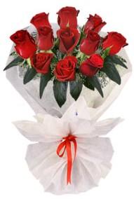 11 adet gül buketi  Uşak internetten çiçek siparişi  kirmizi gül