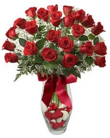 17 adet essiz kalitede kirmizi gül  Uşak çiçek mağazası , çiçekçi adresleri