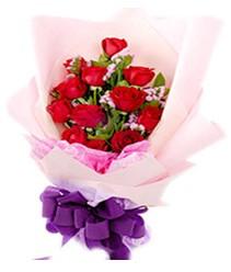 7 gülden kirmizi gül buketi sevenler alsin  Uşak çiçek gönderme sitemiz güvenlidir