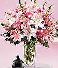Uşak çiçek yolla , çiçek gönder , çiçekçi   Kazablanka biçme vazoda