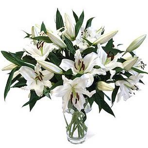 Uşak çiçekçi telefonları  3 dal görsel casablanca vazo tanzimi