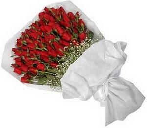 Uşak İnternetten çiçek siparişi  51 adet kırmızı gül buket çiçeği