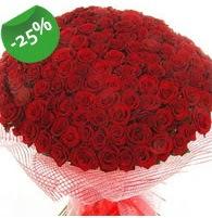 151 adet sevdiğime özel kırmızı gül buketi  Uşak çiçek siparişi sitesi