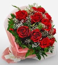 12 adet kırmızı güllerden kaliteli gül  Uşak çiçek siparişi vermek
