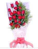 19 adet kırmızı gül buketi  Uşak uluslararası çiçek gönderme