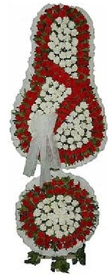 Çift katlı Açılış düğün çiçeği görsel nikah çiçeği