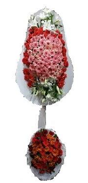 çift katlı düğün açılış sepeti  Uşak internetten çiçek satışı