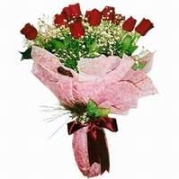 Uşak çiçek siparişi sitesi  12 adet kirmizi kalite gül