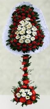 Uşak internetten çiçek satışı  çift katlı düğün açılış çiçeği