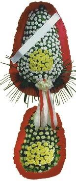 Çift katlı düğün açılış çiçeği  Uşak çiçek servisi , çiçekçi adresleri