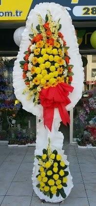 Çift katlı düğün nikah açılış çiçeği  Uşak güvenli kaliteli hızlı çiçek