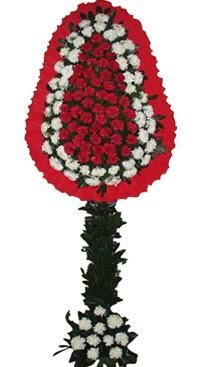 Çift katlı düğün nikah açılış çiçek modeli  Uşak çiçekçi mağazası