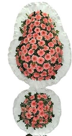 Çift katlı düğün nikah açılış çiçek modeli  Uşak online çiçek gönderme sipariş
