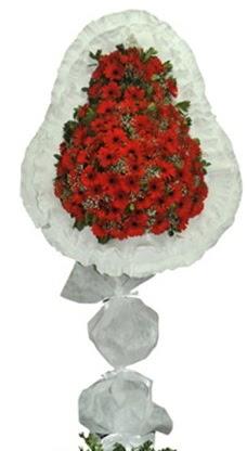 Tek katlı düğün nikah açılış çiçek modeli  Uşak cicekciler , cicek siparisi