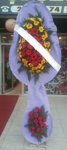 Çift katlı nikah düğüne çiçek modeli  Uşak internetten çiçek siparişi