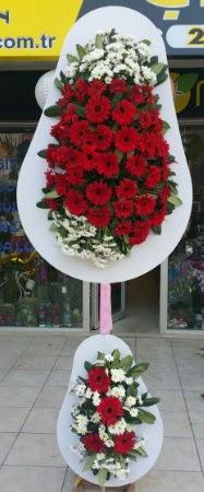 Çift katlı düğün nikah işyeri açılış çiçeği  Uşak İnternetten çiçek siparişi