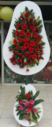 Çift katlı düğün nikah açılış çiçek modeli  Uşak internetten çiçek siparişi