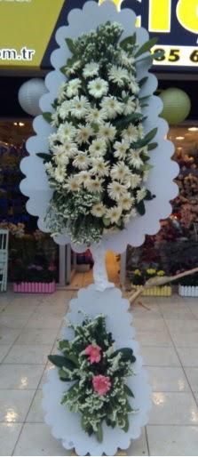 Çift katlı düğün nikah açılış çiçeği  Uşak çiçekçi telefonları